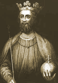 Drawing of Edward the Second